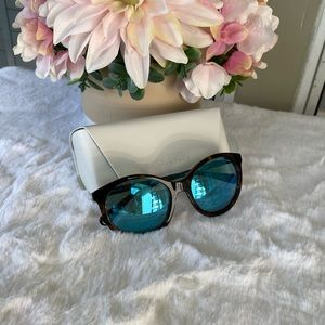 Mk 55mm oversized sunglasses